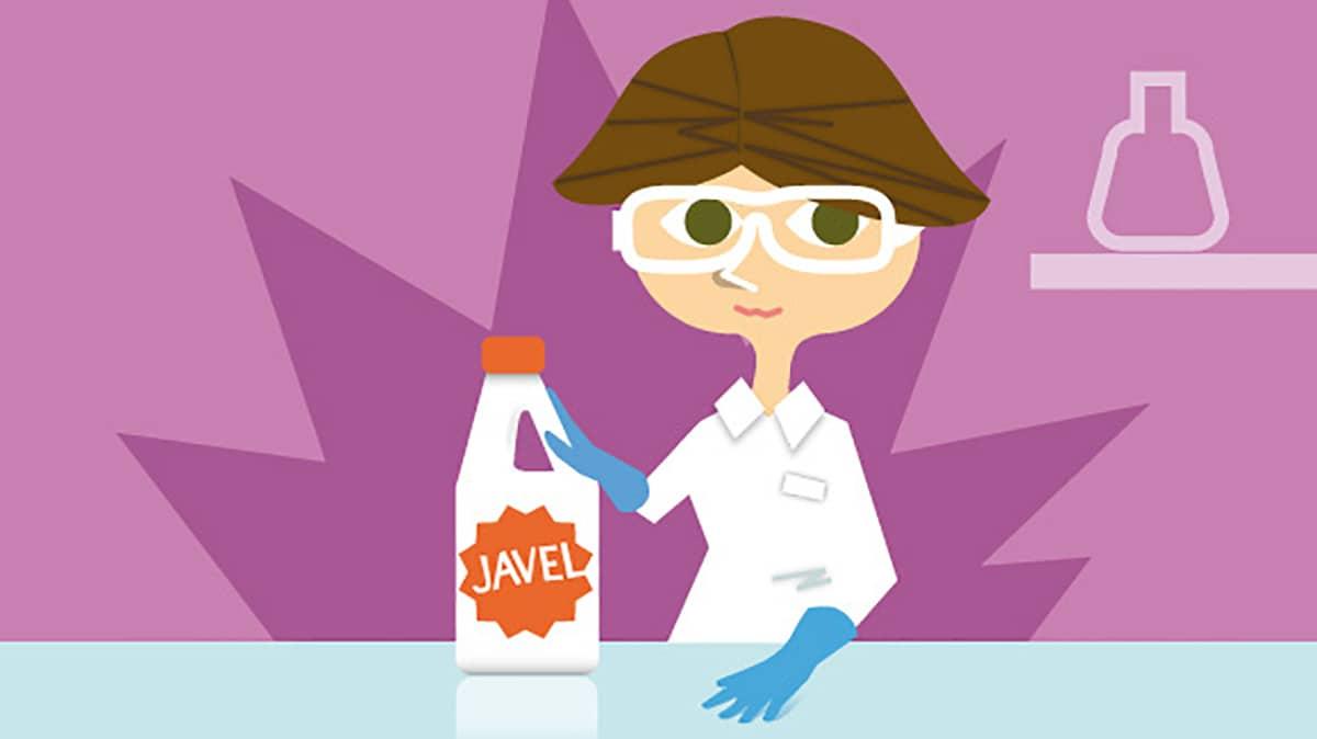 Du bon usage de l'hypochlorite de sodium