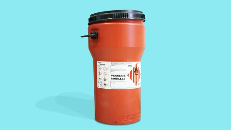 Du stockage au transport, prenez soin de vos déchets chimiques